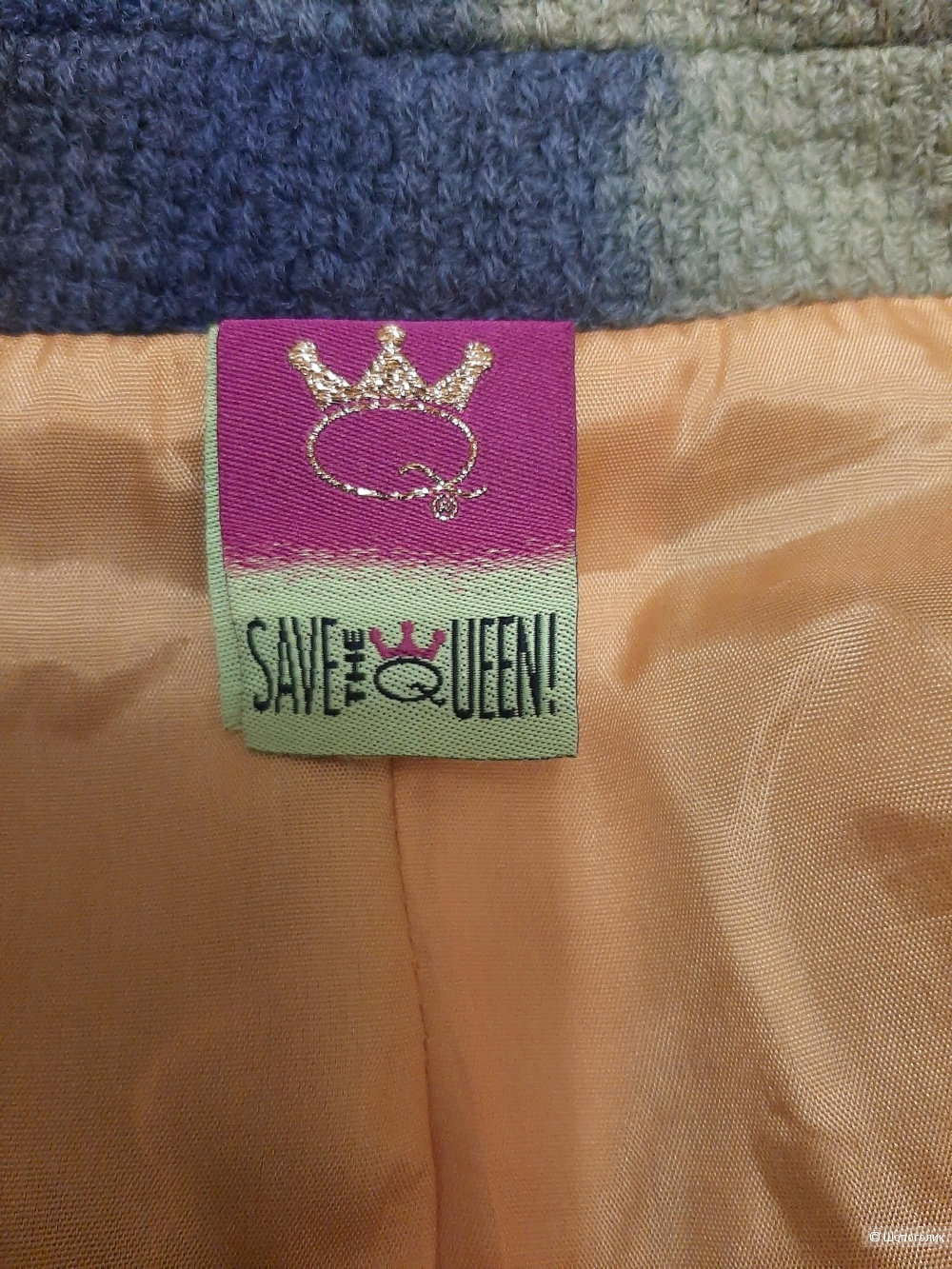 Пальто Save the Queen, размер XS