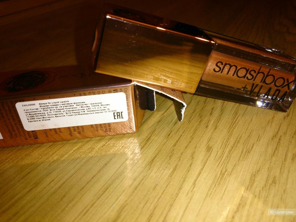 Матовая помада для губ Smashbox, 4 ml