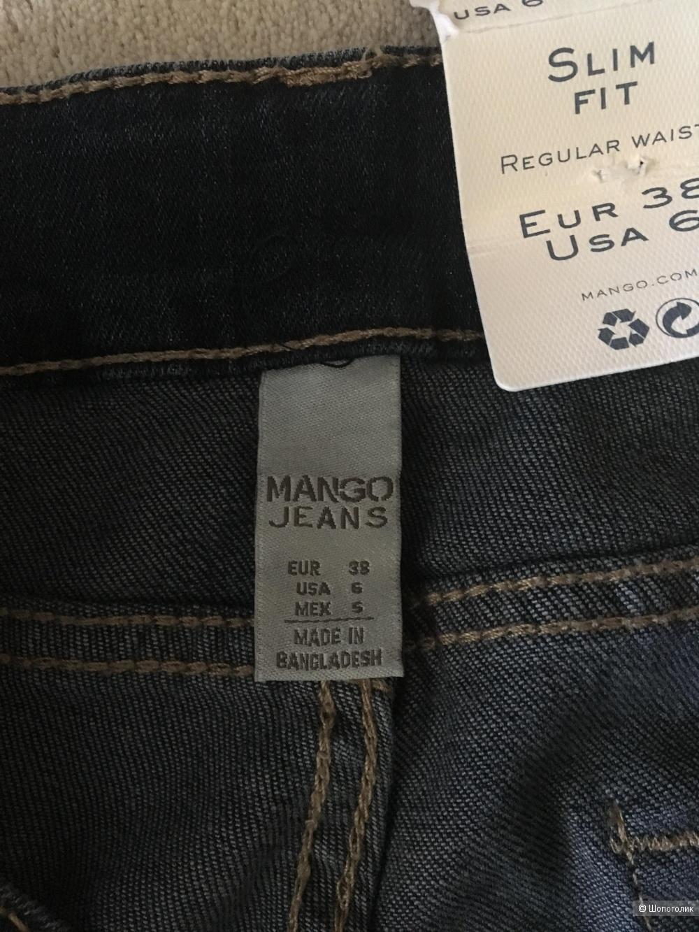 Джинсы Mango ,eur размер 38