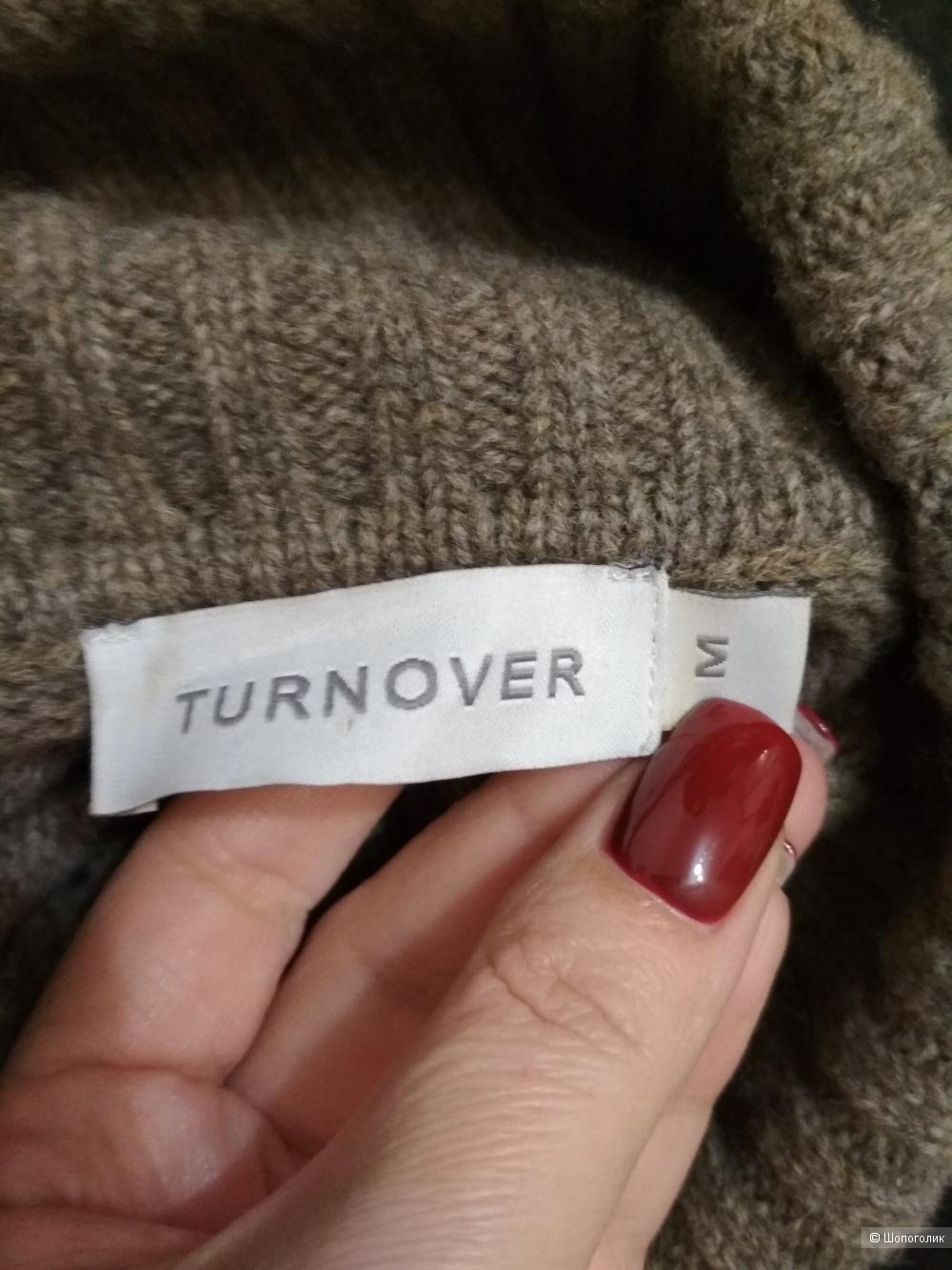Шерстяное платье-водолазка  Turnover, р. 44-46