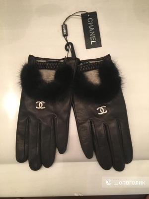 Перчатки Chanel, р 7.5