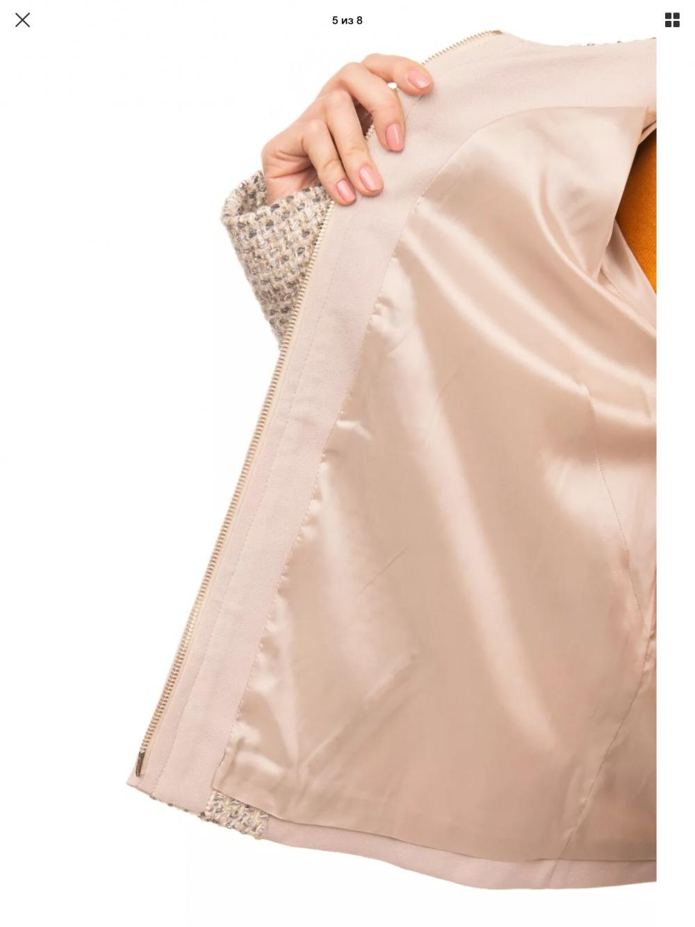 Жакет пиджак Patrizia Pepe размер 48