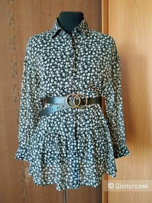 Шифоновая блуза H&M. Размер 42-46