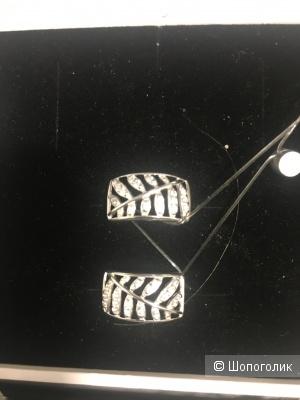 Серьги SOKOLOV серебро 925 пробы