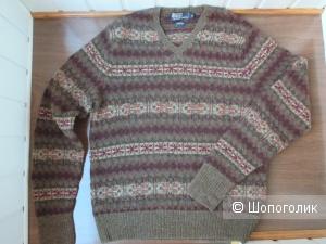 Шерстяной свитер Ralph Lauren.  48/50