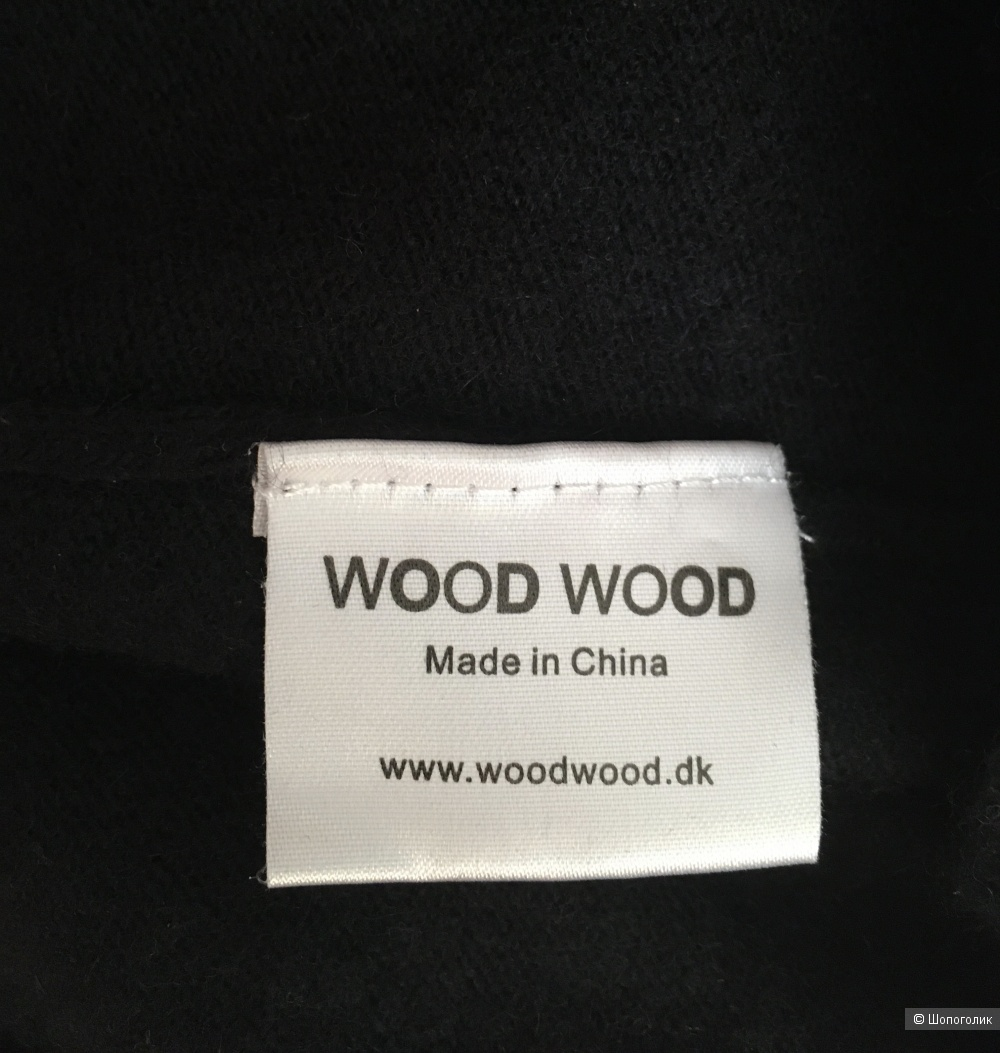 Тёплое прямое  платье с молнией на спине Wood Wood размер XS/S