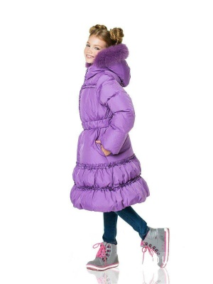 Пуховое пальто Aviva, р.8 лет рост 128-134