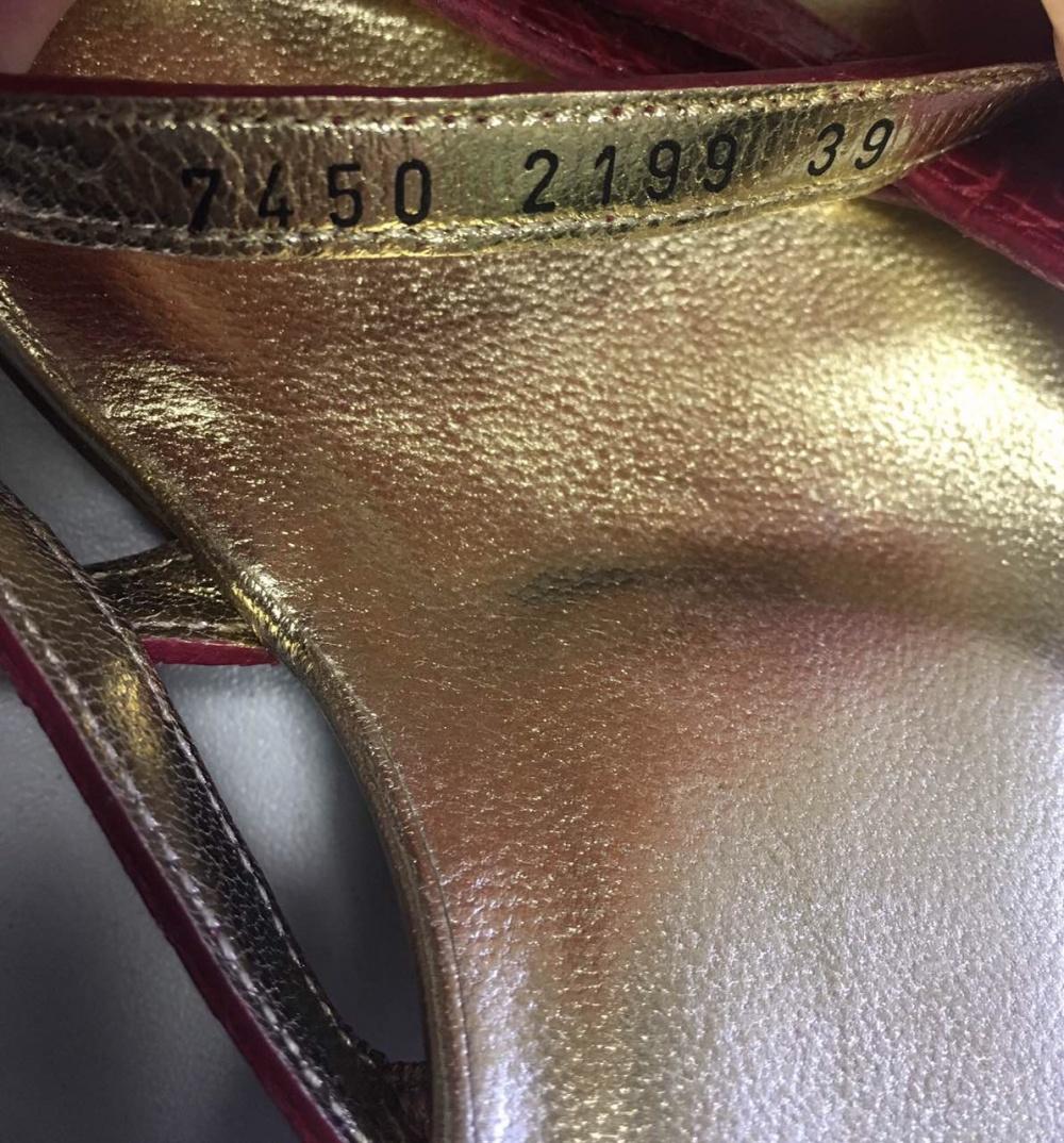 Сабо Dolce&Gabbana, 39-40 размер