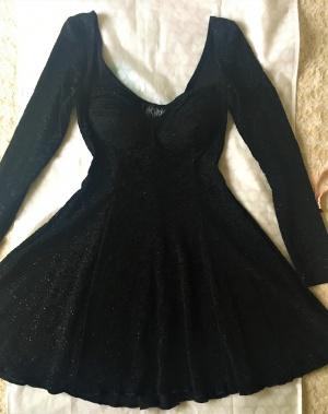 Платье коктейльное винтажное марки Maick Harold размер 42-44.