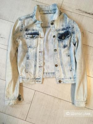 Джинсовая куртка Mira Sezar, размер 40-42