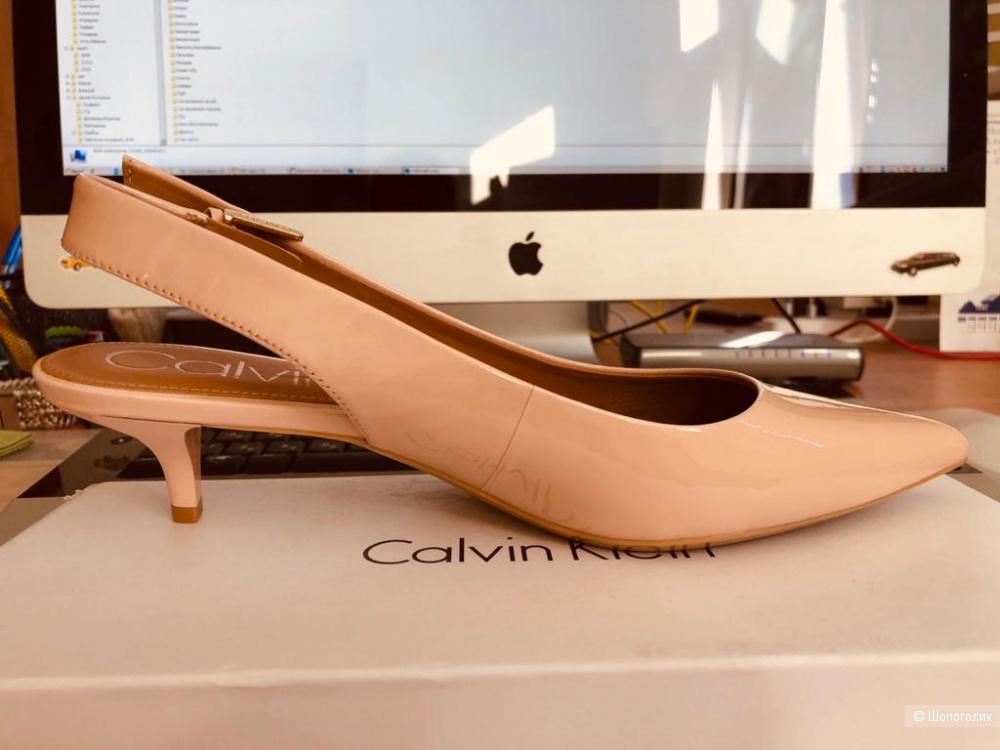 Туфли с открытой пяткой Calvin Klein 38