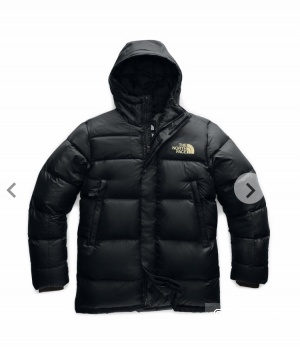 Пуховик+ шапка The north face, размер s