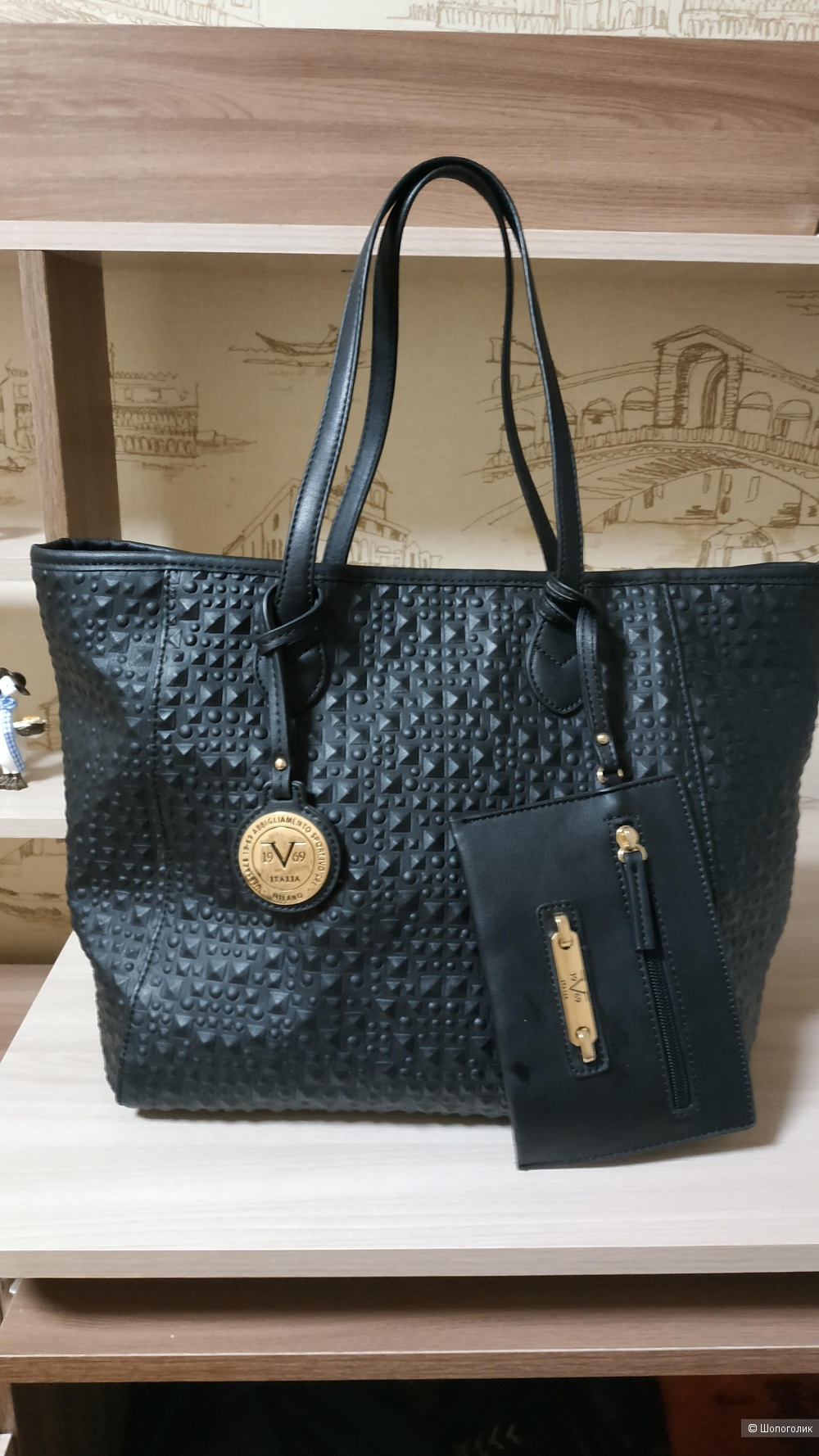 Сумка-шоппер Versace