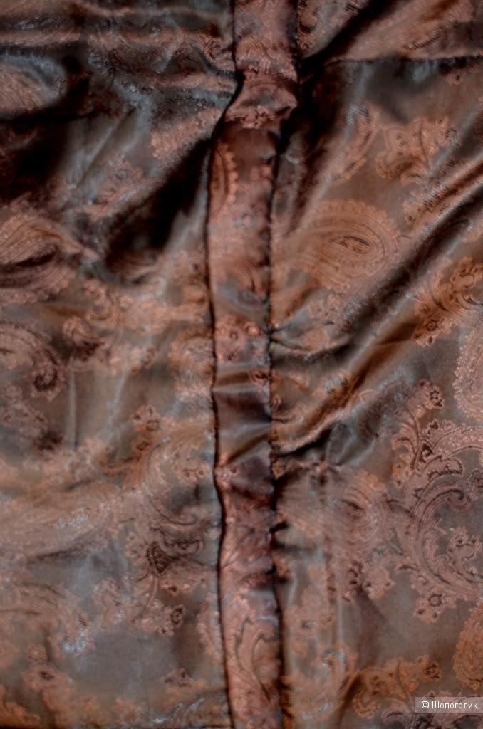 Жилет из  песца 90 см 42-46