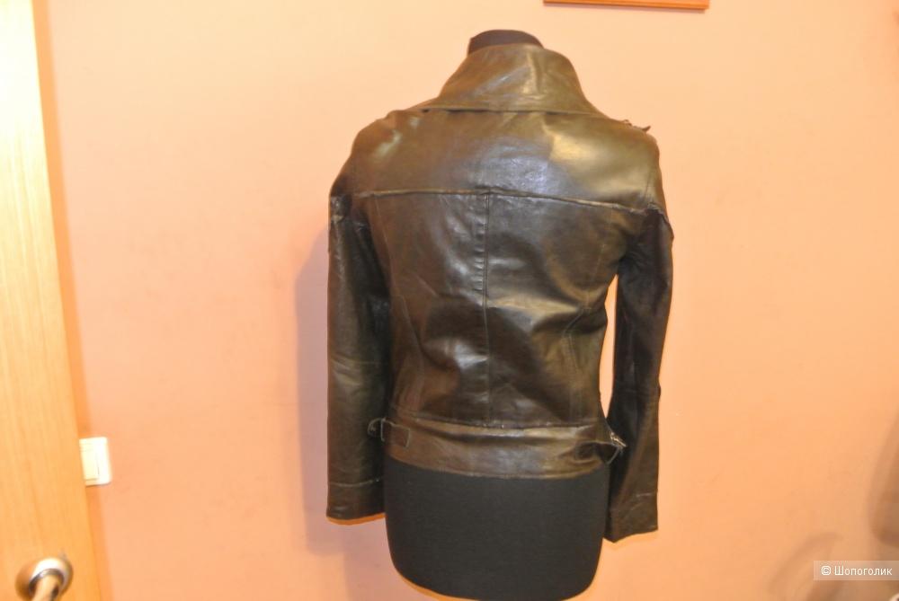 Кожаная куртка Freaky Nation размер S