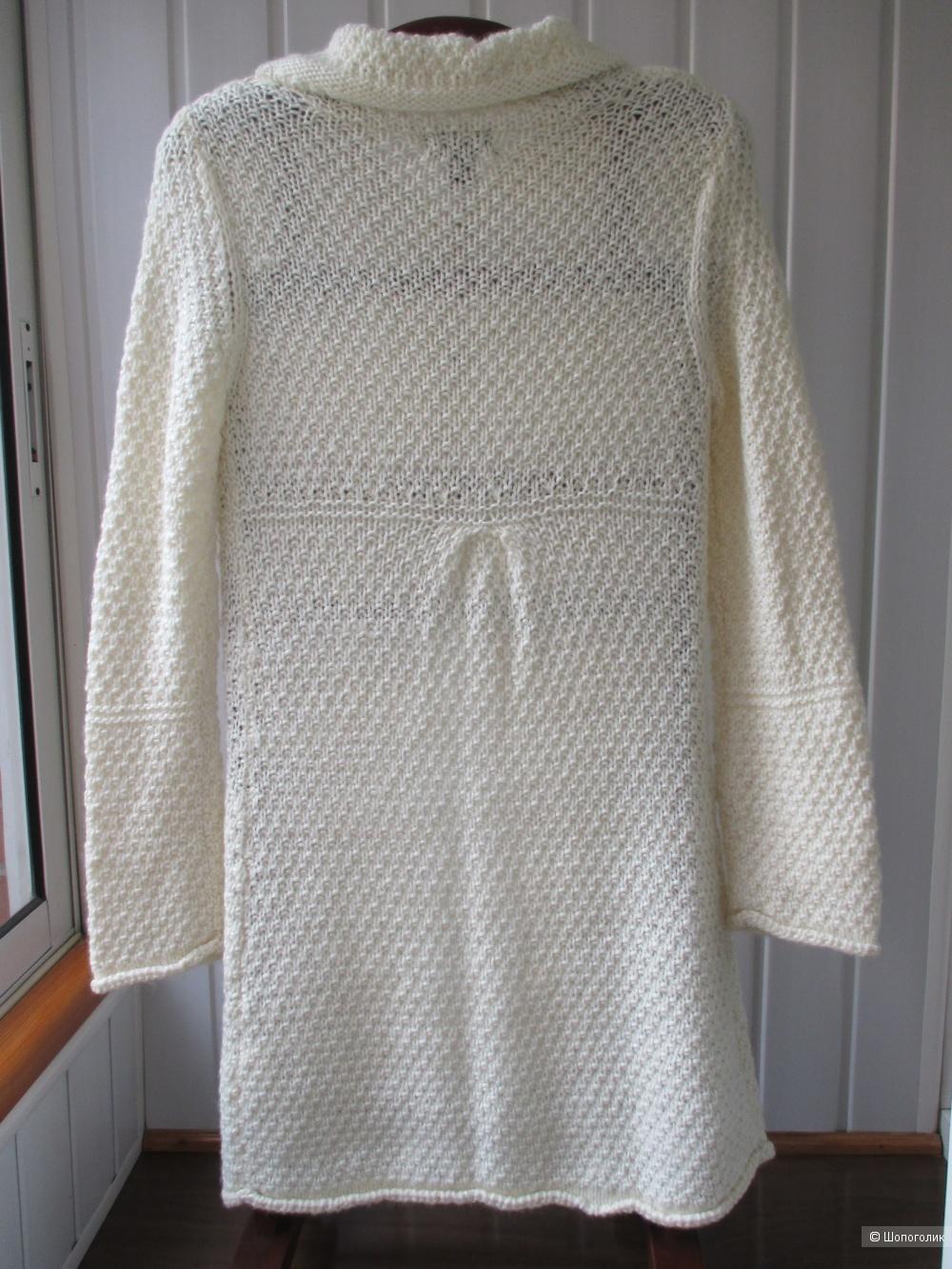 Вязаный кардиган -пальто H&M. 42/44