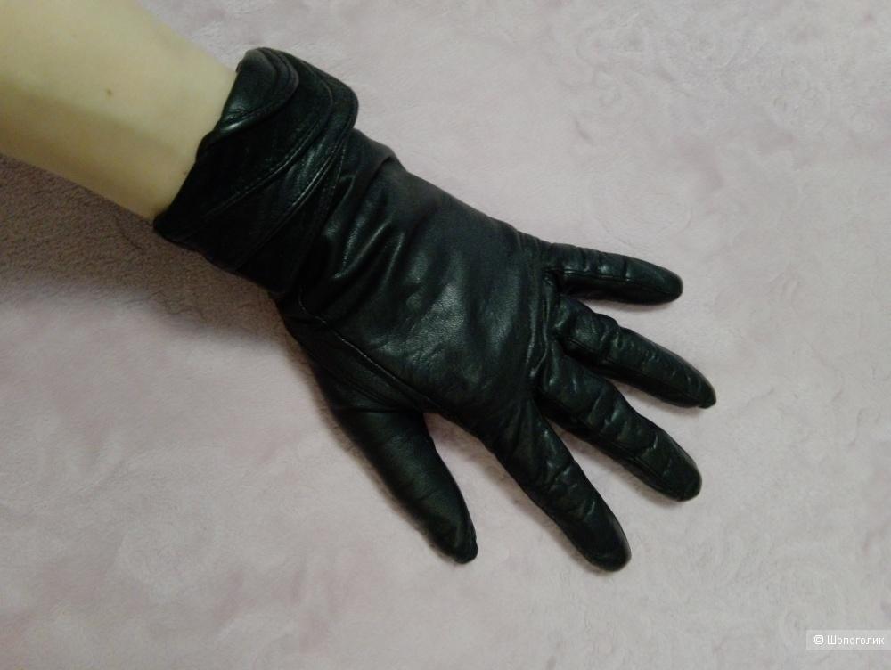 Кожаные перчатки  Romika размер 7,5
