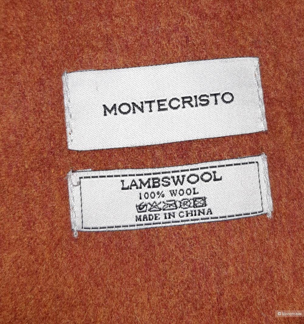 Новый шерстяной палантин montecristo, размер 57*200