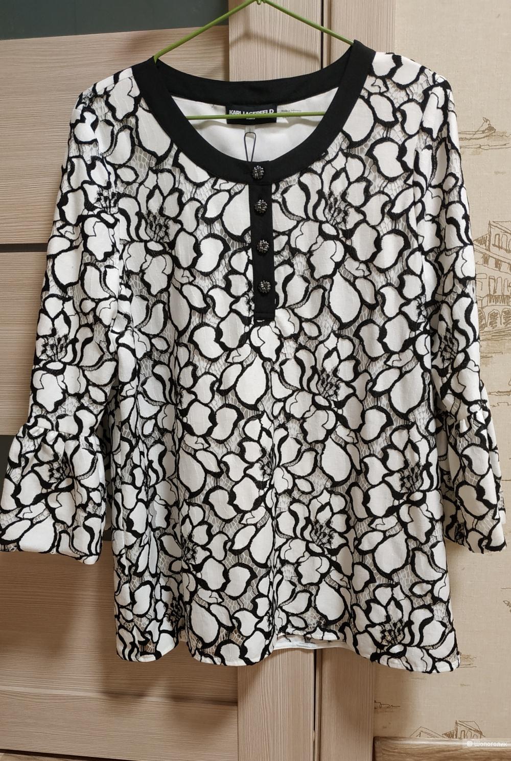 Блуза, Karl Lagerfeld, размер L