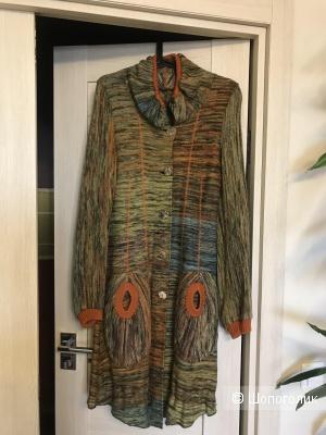 Пальто вязаное Weaving, 42 размер