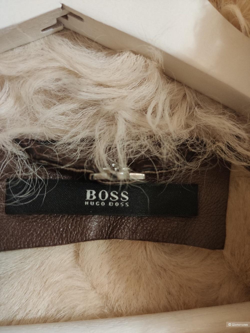 Натуральная дубленка Hugo Boss на 42-44