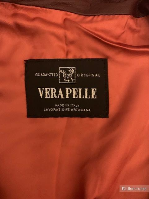 Кожаная куртка Vera Pelle 48 размер