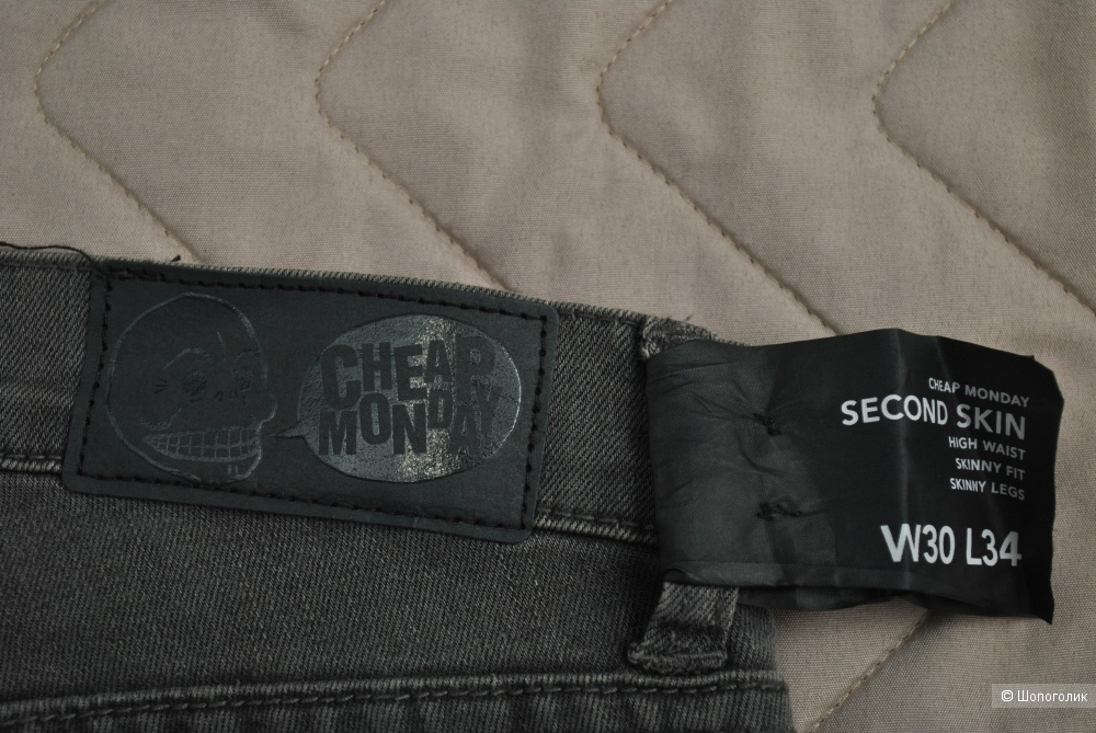 Джинсы cheap monday  W30 L34