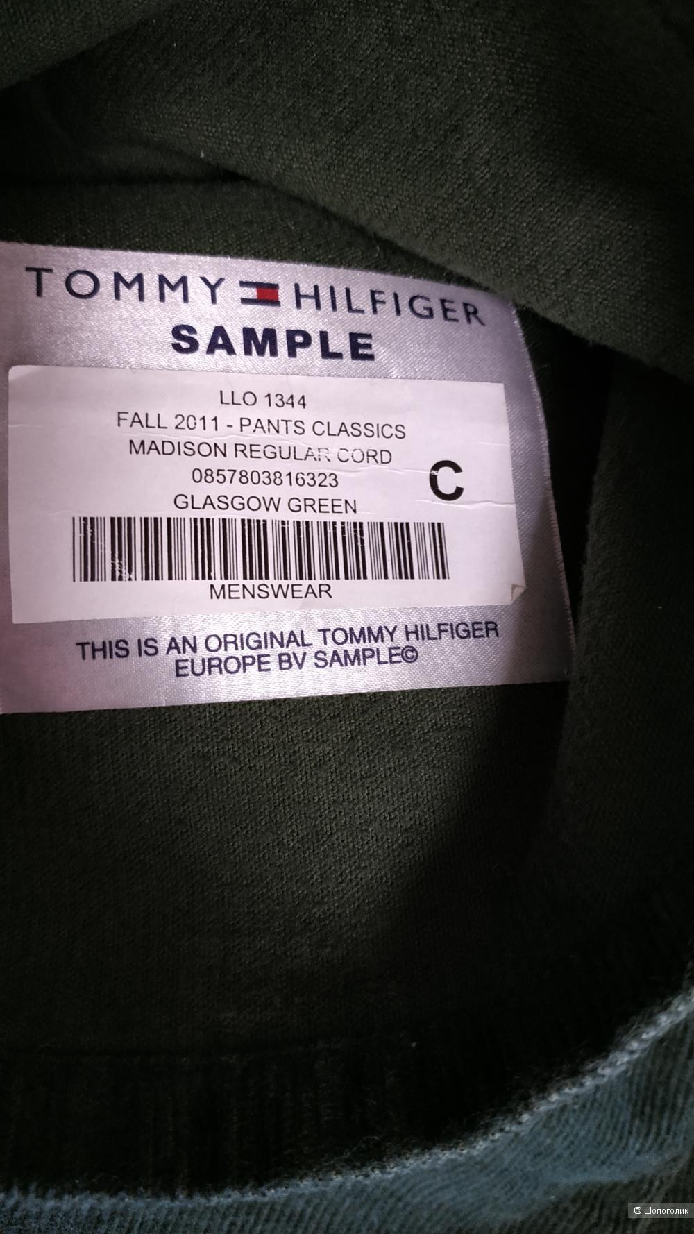Мужские вельветовые джинсы Tommy Hilfiger, размер 34/34