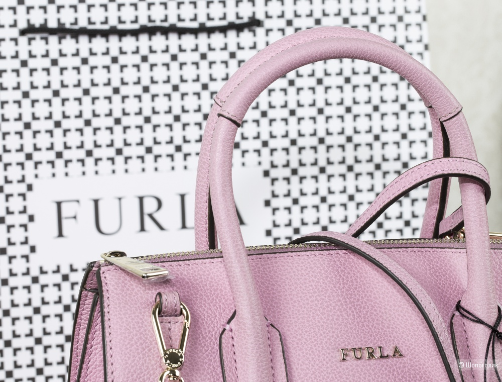 Сумка-тоут женская, Furla Pin, small.
