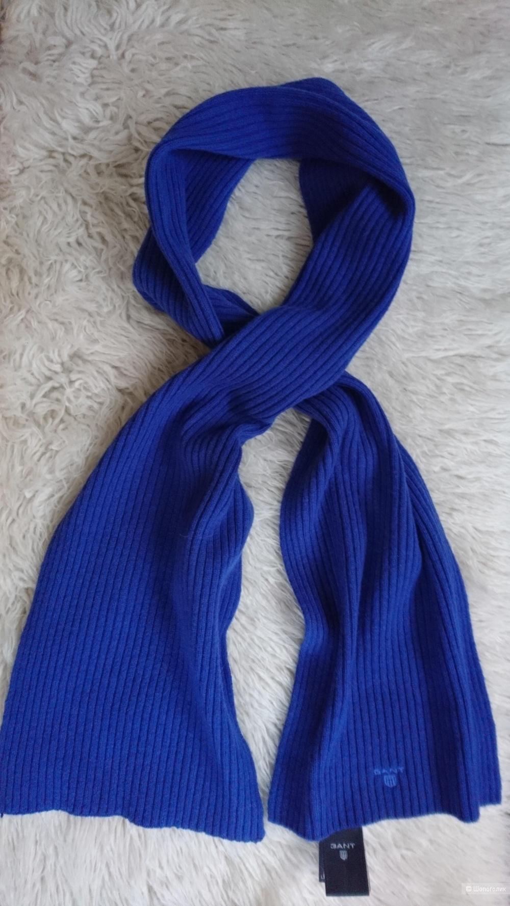 Шерстяной шарф GANT