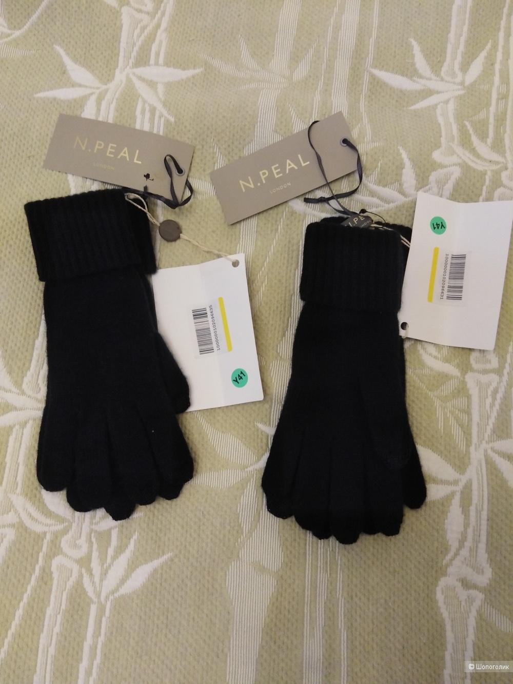 Кашемировые перчатки N. PEAL