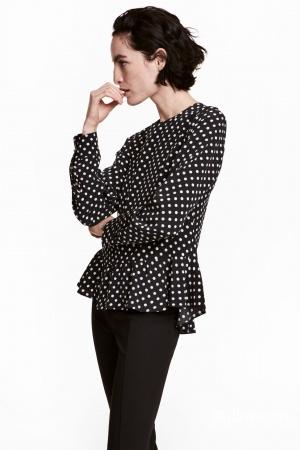 Шелковая блузка HM Premium