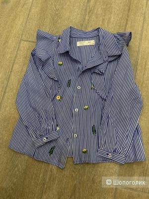 Рубашка ZARA kids, размер 5 лет рост 110 см