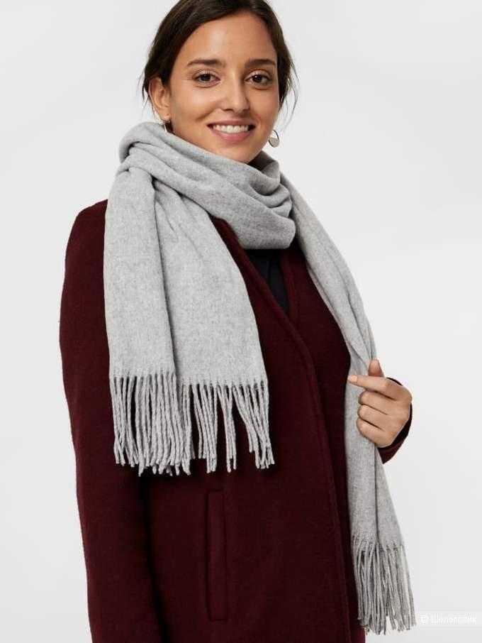 Шерстяной шарф Selected,  45 х 185 см.