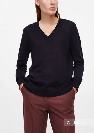 Шерстяной свитер hugo boss, размер l