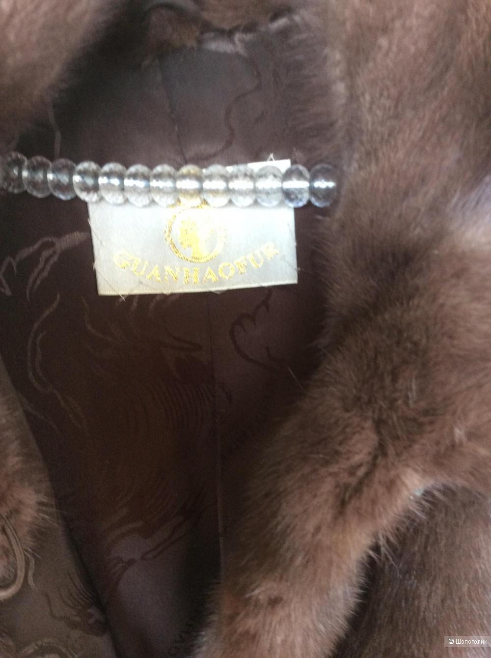 Норковая шуба Guanhaofurl размер 50-52