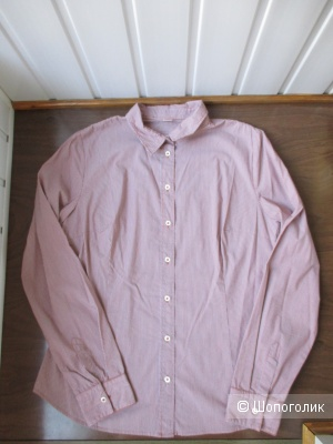 Рубашка  в полоску Boss Orange. 46/48