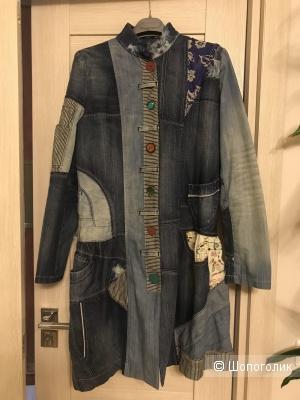 Пальто джинсовое Desigual, 42-44
