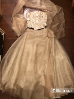 Шелковое платье Nicole 36 размер