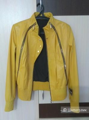 Куртка натуральная кожа 44 российский
