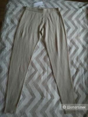Трикотажные брюки-леггинсы Stefanel, S