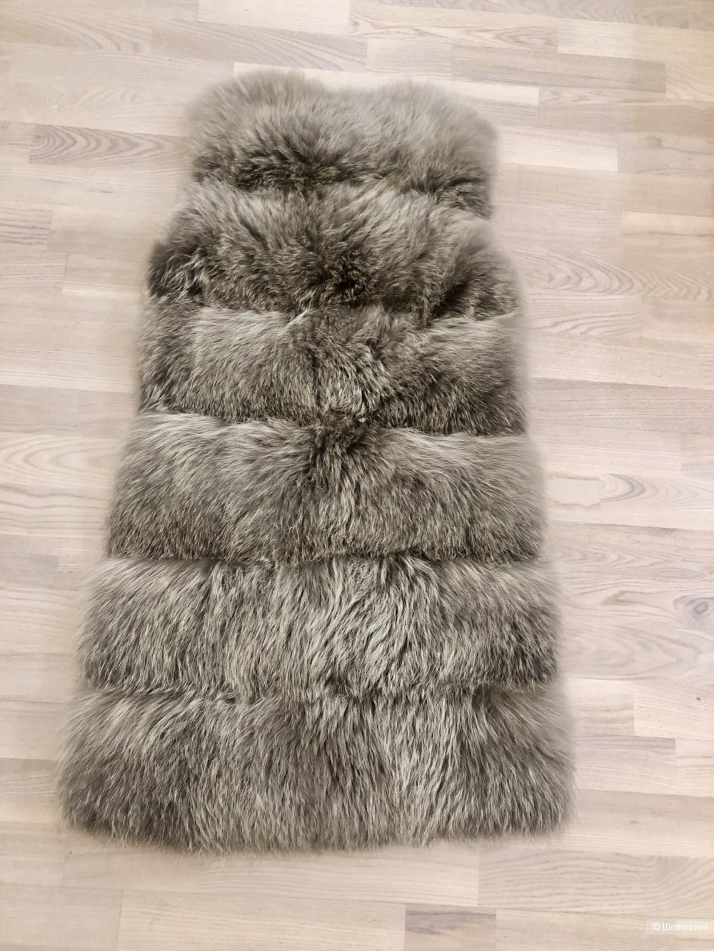 Меховой жилет Antonio Didone, размер S.