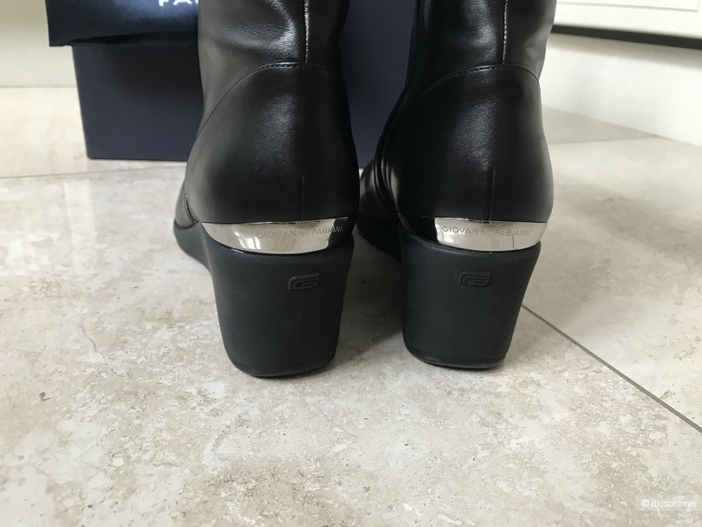 Зимние сапоги / ботинки Giovanni Fabiani, размер 38,5