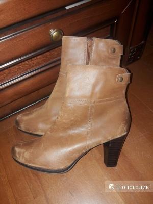 Кожаные ботинки Lazzarini 40 размера