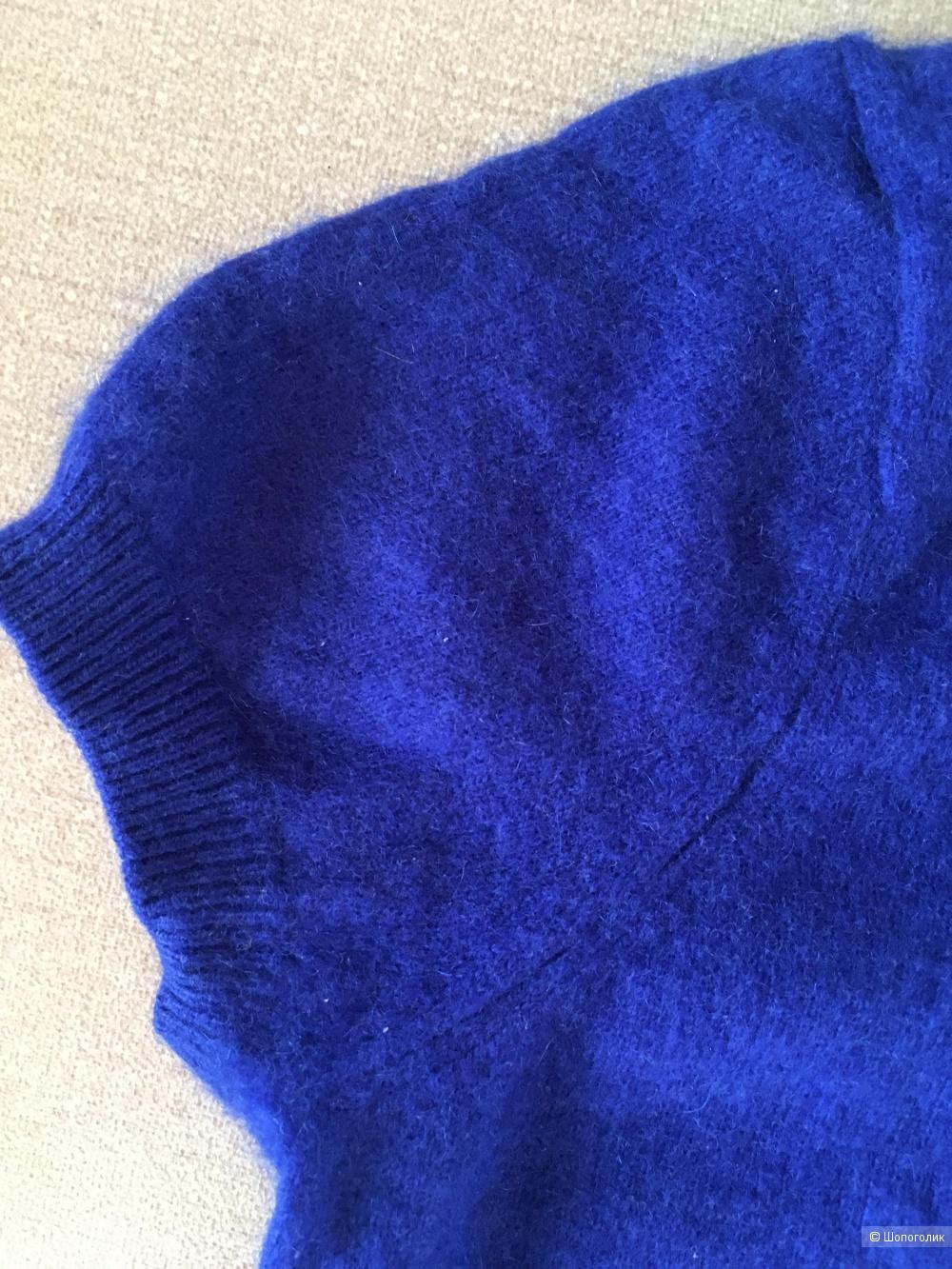 Кашемировый джемпер свитер Zara Knit, размер S, 42