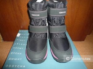 Сапоги зимние GEOX для девочки 34 размер