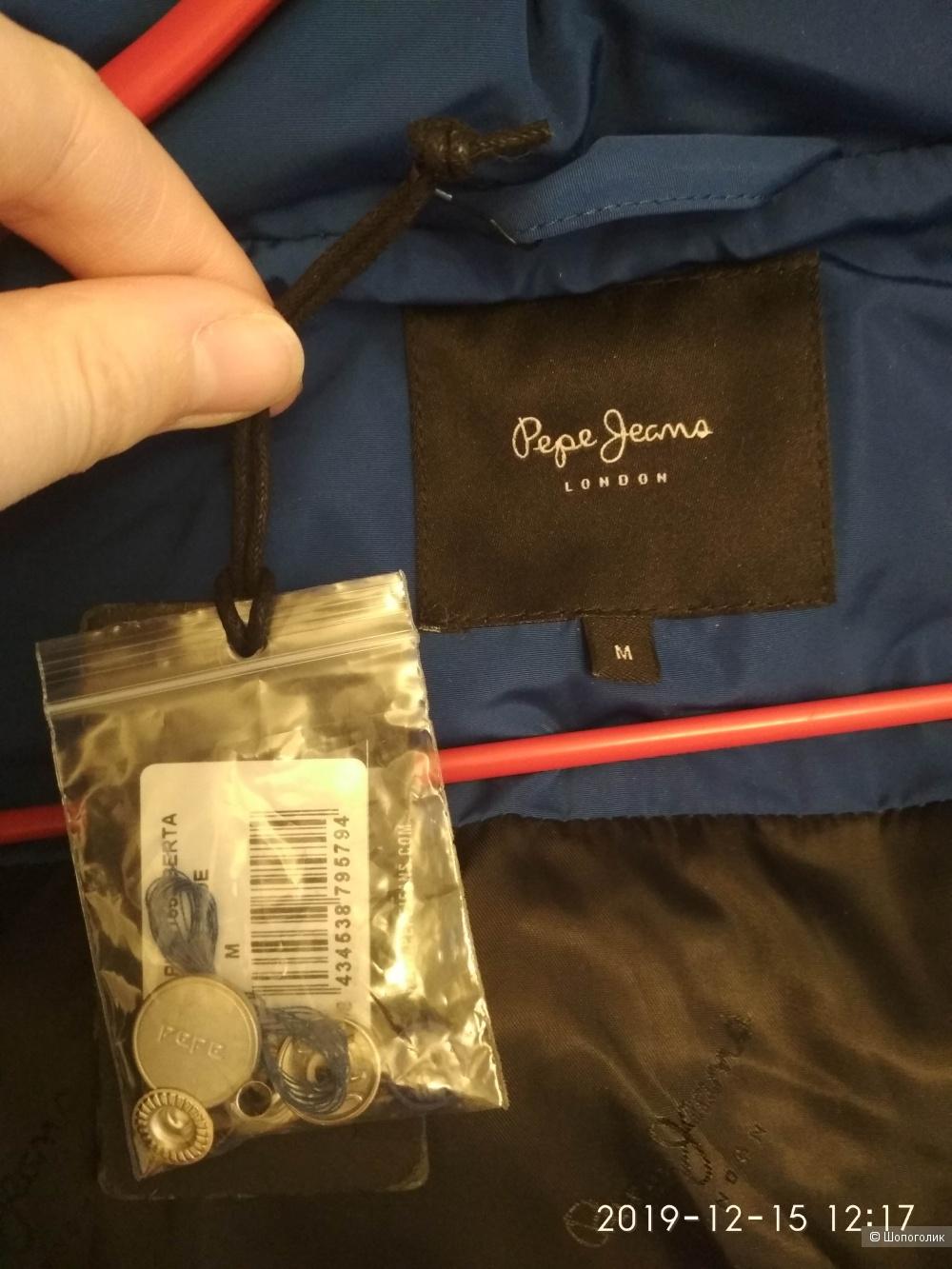 Пуховик на синтепоне Pepe Jeans размер M (идет на L)