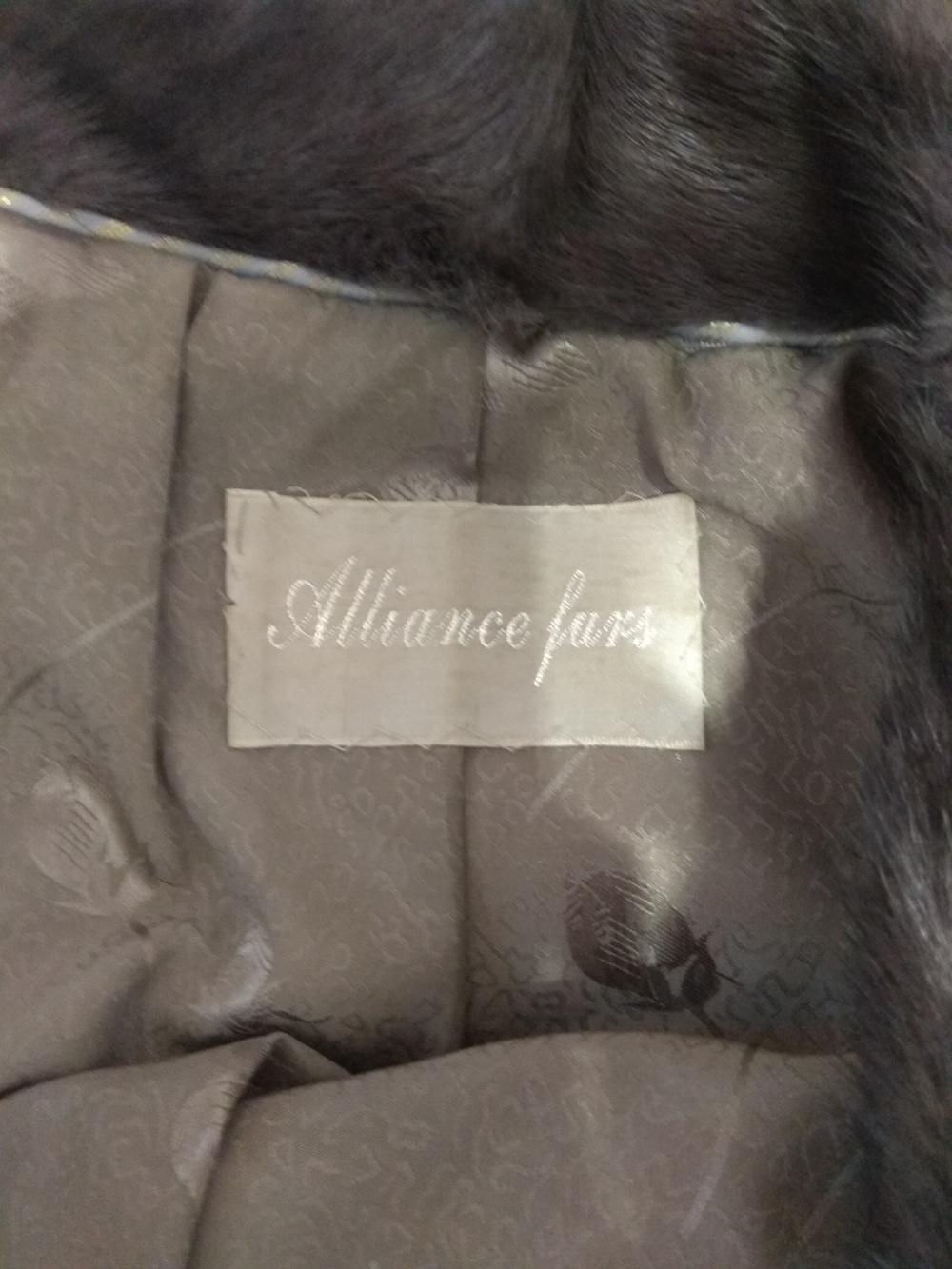 Норковые шубы Pixiubao Alliance furs  размер xs -s