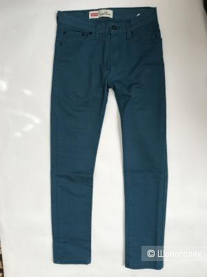 Джинсы Levis 510tm super skinny, цвет синий размер 27/27