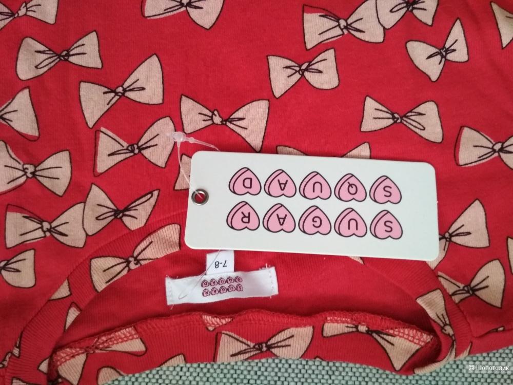 Платье sugar squad размер 7-8 лет